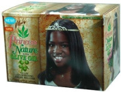 Vitale Princess Nature No-Lye Conditioning Creme Relaxer Kit 4 Kids-Super