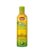 African Pride Olive Miracle 5.1cm 1 FORMULA SHAMPOO & CONDITIONER . Code : AFP013