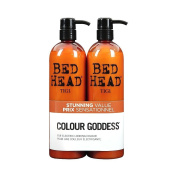 Colour Combat - The Colour Goddess System by TIGI Bed Head Hair Care Tween Set - Shampoo 750ml and Conditioner 750ml 750ml