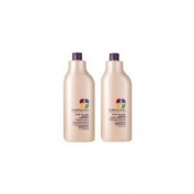 Pureology Purevolume Shampoo And Conditioner Litre Duo