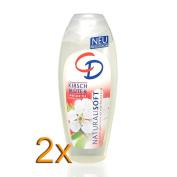 2x CD Soft Gel Natural Cherry 250 ml