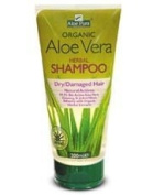 Aloe Pura Organic Aloe Vera Herbal Shampoo for Dry and Damaged Hair 200ml