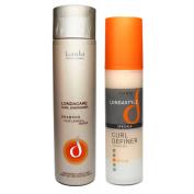 Londacare Shampoo Olive Leaves & Ginger Curly Hair & Curl Definer Londastyle / curling gel