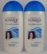 2 x 200ml Sunsilk Shampoo Silicone Blend Defined Curl for Frizzy Curly Hair