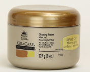 Keracare Natural Textures Cleansing Cream 240ml Sulphate Free Moisturising Curl Wash Shampoo