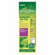 THREE PACKS of Australian tea tree Anti Dandruff Shampoo 250ml