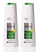Vichy Dercos Anti-Dandruff Treatment Shampoo Dry Hair 2x200ml