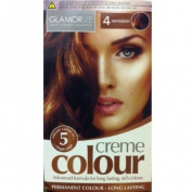 Glamorise Permanent Mahogany Hair Colourant Creme Dye