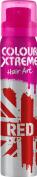 Colour Xtreme Hair Art Temporary Colour Hairspray 75ml RED