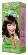Just Modern Colourful WOW Hair Colour Permanent Hair Cream Dye Light Brown J3..