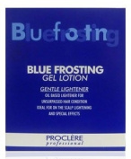 Professional Blue Frosting Gel Lotion 4 x 13g Sach