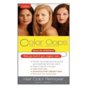 Colour Oops Regular Strength Hair Colour Remover, #Rs100 - 1 Ea
