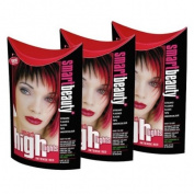 Smart Colour Semi-permanent Intense Red Hair Dye x 3