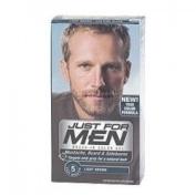 THREE PACKS of Just For Men Brush-In Colour Gel For Moustache Beard & Sideburn Light Brown M-2