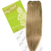My Hair 36cm Colour 8 Euro Weft Hair Extensions