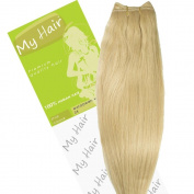My Hair 36cm Colour 24 Euro Weft Hair Extensions