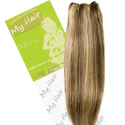 My Hair 36cm Colour 4/24 Euro Weft Hair Extensions