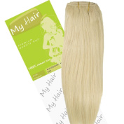 My Hair 36cm Colour 613 Euro Weft Hair Extensions
