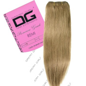 Dream Girl 41cm Colour 8 Remi Weft Hair Extensions