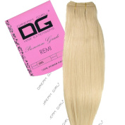 Dream Girl 41cm Colour 1001 Remi Weft Hair Extensions