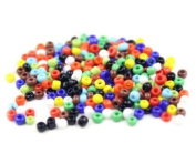200 Opaque Pony Beads 6x9mm, IDEAL FOR DUMMY CLIPS , BRACELETS , HAIR BRADING