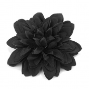 Bling Online Black Hair Flower Clip.