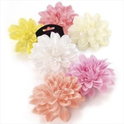 H20314 Pink Flower Hair Clip Wedding Party Prom