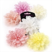 H20319 Purple Pink Flower Hair Clip Wedding Party Prom