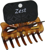Brown Tortoiseshell 9cm Wide Hair Claw Jaw Clip Hair Accessories by Zest