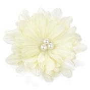 Ivory Flower Pearl Beak Clip/Slide AJ26788
