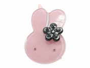 Glitz4Girlz Bunny Resin Hair Clip - Lilac
