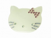 Glitz4Girlz Mint Cream Kitten Hair Clip