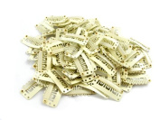 10 pack Blonde Weft Clips 32mm for Hair Extensions and Wefts