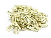 20 pack Blonde Weft Clips 32mm for Hair Extensions and Wefts