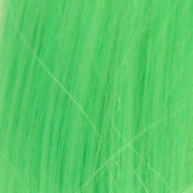 Biya Hair Elements 6 X Curly/Wavy Highlights Clip In Hair Extensions - 60Grams 20 Inches(50Cm) Colour Neon Green#