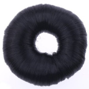 EOZY Black Korean Bun Hair Former Doughnut Shaper Donut Hairpiece Hair Elastic Band Loop Coil Hairdressing Ponytail Holder