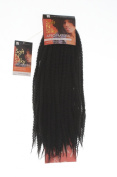 Afro Twist Braid. Off Black