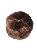 LIGHT BROWN Clip In On Bun Scrunchie Ponytail - High Quality 100% Synthetic Hair Extensions