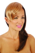 Strawberry Blonde Clip in Fringe | Natural Straight Clip In Fringe Hairpiece