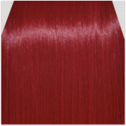 60cm Clip in Hair Extensions STRAIGHT Pillar Red FULL HEAD 8pcs