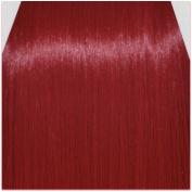 60cm Clip in Hair Extensions STRAIGHT Pillar Red FULL HEAD 8pcs