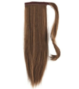 Forever Young Clip In Pony Tail Hair Extension Wrap Around Ponytail Hair Extension Piece Light Brown 10#