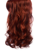 2.3cm Clip in Hair Extensions CURLY Copper #350 FULL HEAD 8pcs