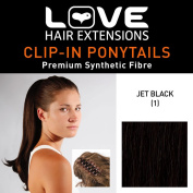 Love Hair Extensions India Crocodile Clip Synthetic Hair Ponytail