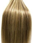 46cm BLONDE MIX (Col 12/613). Full Head Clip in Human Hair Extensions. High quality Remy Hair!. 100g Weight