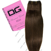 Dream Girl 36cm Colour 4 Remi Weft Hair Extensions