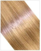 46cm Indian Remy Hair Weft For Sew In Or Glue In - Two Blonde Mix Col 18/613