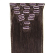 Beauty Online 15-60cm Indian Remy Hair Clip In Hair 7PCS 130g/set Silky Straight - Colour
