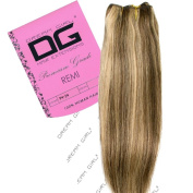 Dream Girl 36cm Colour 4/24 Remi Weft Hair Extensions