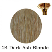 20'' Pre-Bonded Stick Tip Indian Remy Grade A 0.9g #24 - Dark Ash Blonde